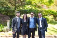 Ares Beggiato, Sara Resistente, Ferdinando Longobardi e Paolo Brazzale