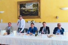 Giuseppe Falco, Michele Dalla Vecchia, Alberto Zaroli, Dino Tommasi e Giuseppe Ruzza