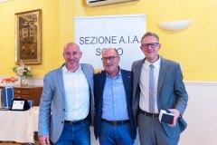 Patrick Pitton, Giuseppe Ruzza e Michele Dalla Vecchia
