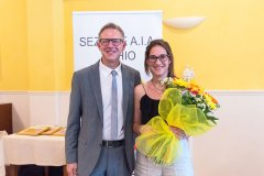 Michele Dalla Vecchia e Alessia Giacomelli