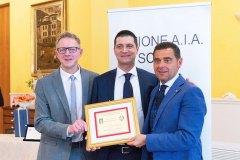 Michele Dalla Vecchia, Luca Segna e Alberto Zaroli
