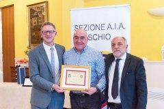 Michele Dalla Vecchia, Riccardo Zannini e Daniele Urbani