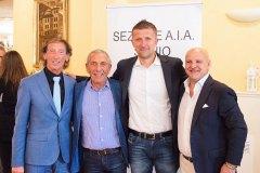 Tiziano Pilati, Mario Gennaro, Daniele Orsato e Giambattista Pivato