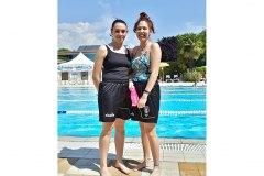 Le nostre nuotatrici Sara Resistente e Monica Arciulli