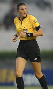 Anna De Toni arbitro Internazionale Femminile