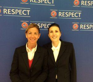 Anna De Toni Osservatore UEFA Femminile