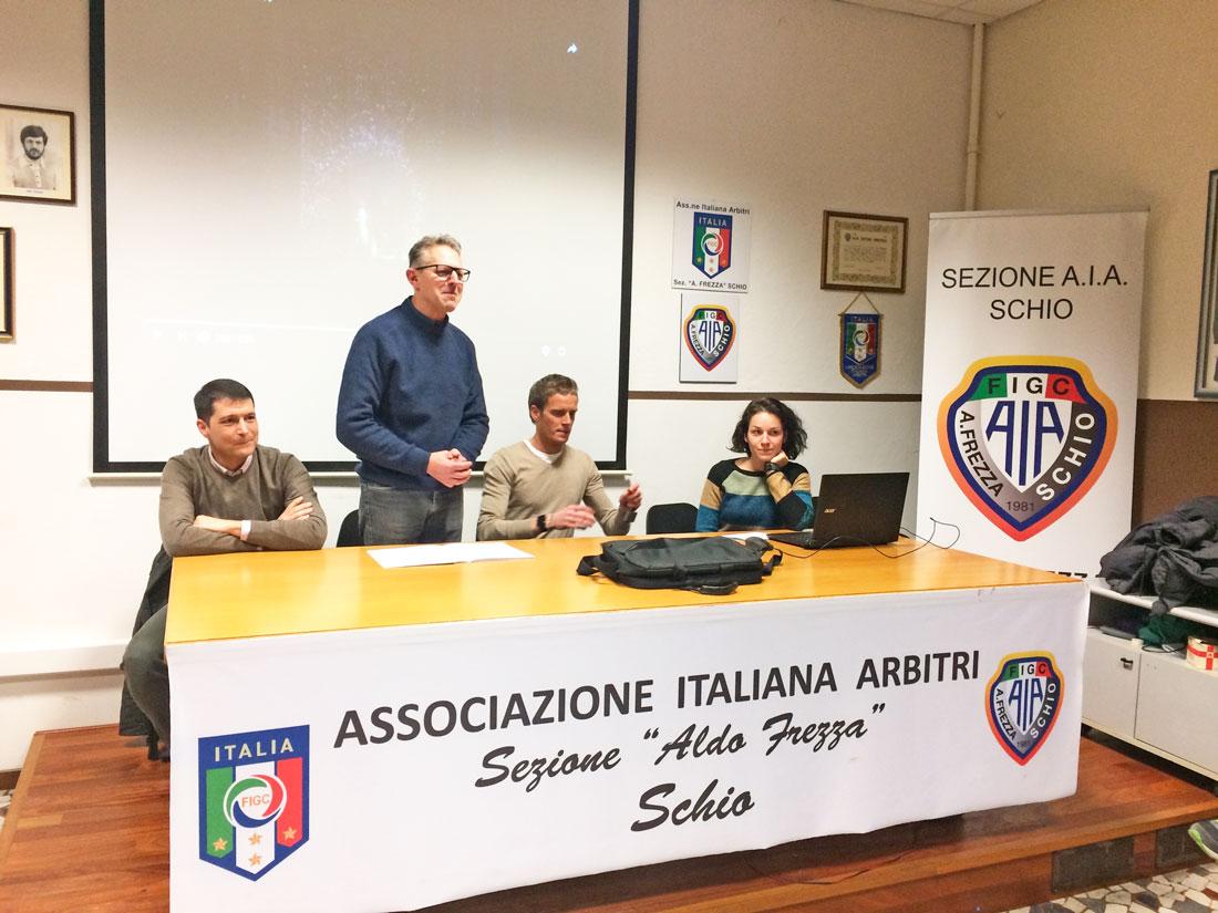 Luca Segna, Michele Dalla Vecchia, Daniele Chiffi e Anna Frazza